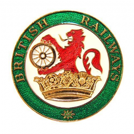 British Rail Lion & Crown Collectors Badge